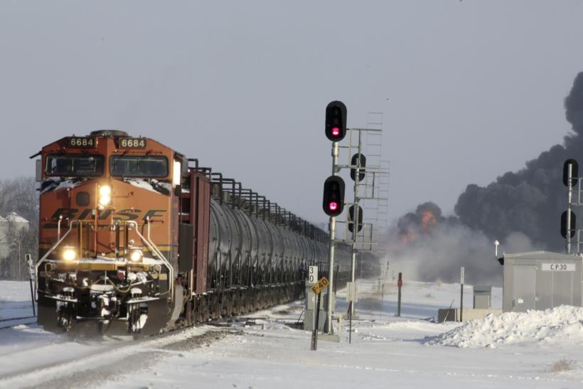 North Dakota train explosion