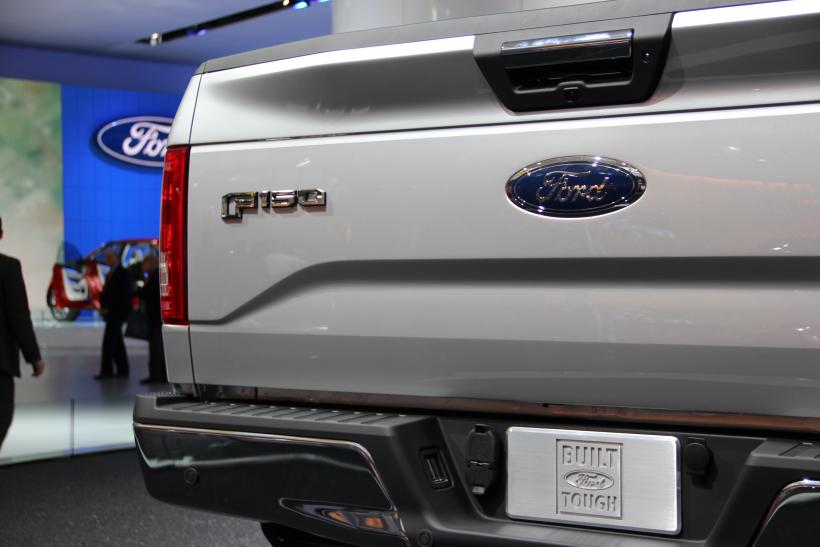 img_2856 the 2015 ford f 150 at the north american international auto show in - 2015 Ford F 150 King Ranch Tailgate