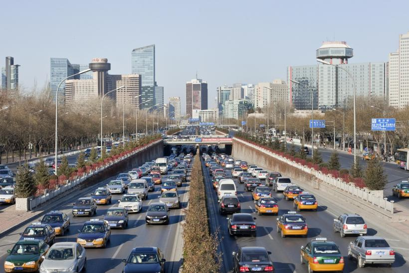 China Beijing 3rd Ring Road by Shutterstock
