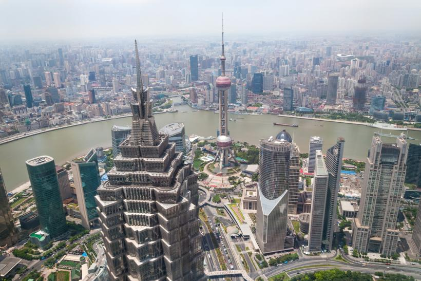 China Shaghai Jin Mao Tower 20107 Shutterstock
