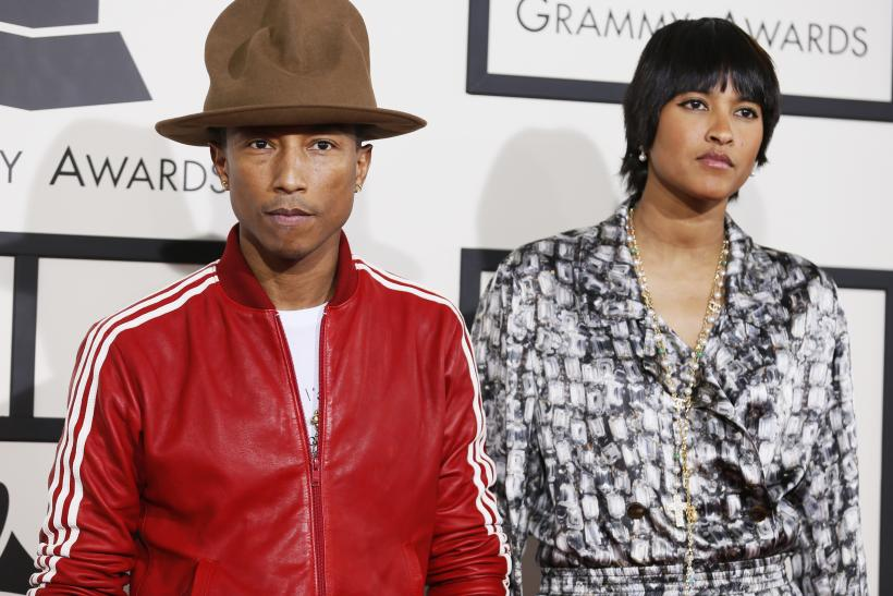 Pharrell Hat is Vivienne Westwood