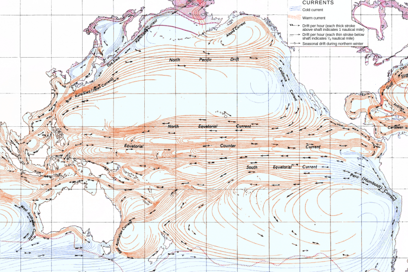 Pacific Ocean Currents