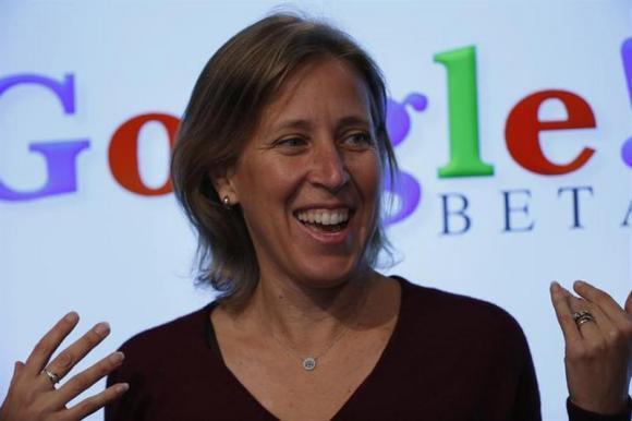 Susan Wojcicki Google SVP Now YouTube CEO
