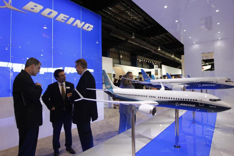 Boeing booth