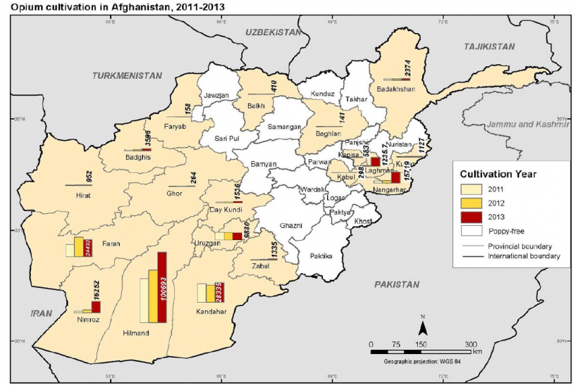 Opium cultivation in Afghanistan