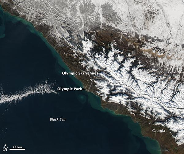 The Causasus Mountains