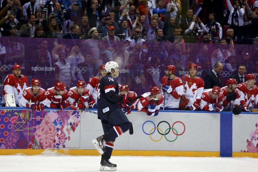 TJ Oshie USA Hockey