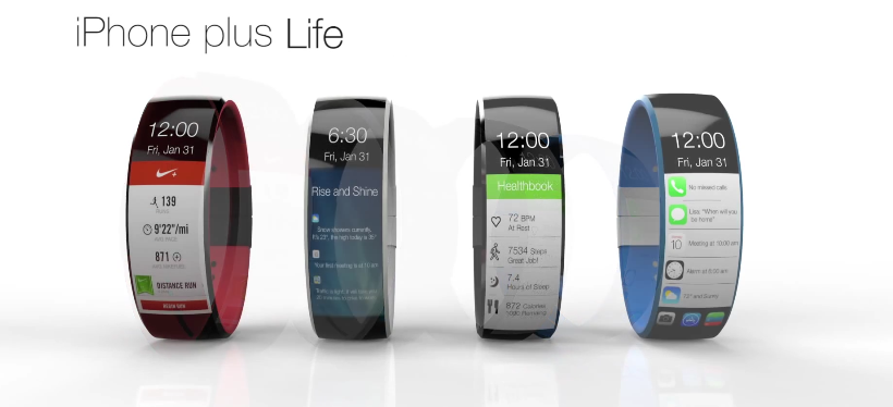 Apple iWatch Concept By FuseChicken