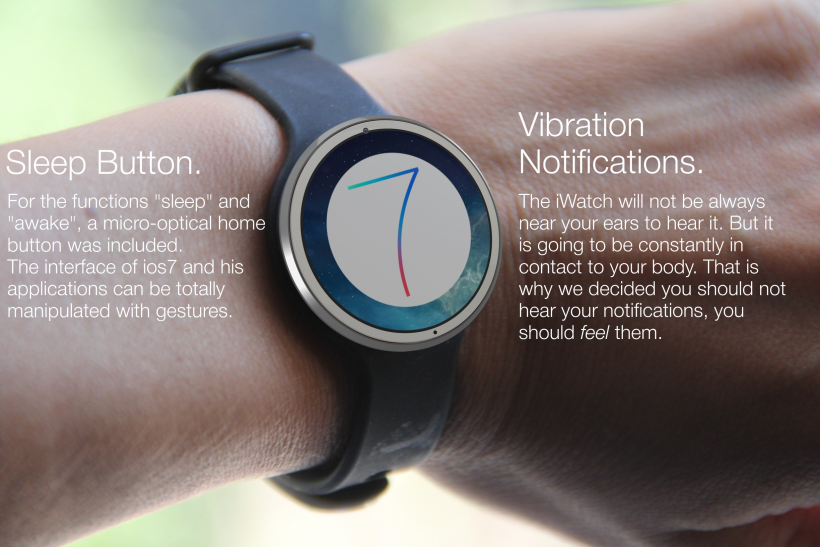 iWatch concept apple release date single