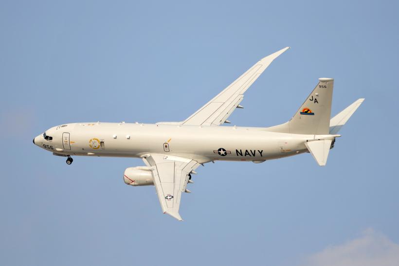P-8 Poseidon display flight