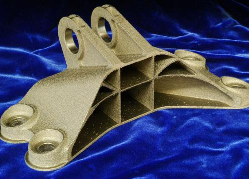 GE Crowdsourced Winning 3D Printed Jet Engine Bracket Design