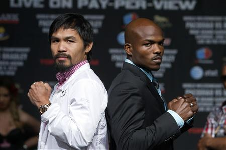 Manny Pacquiao Timothy Bradley