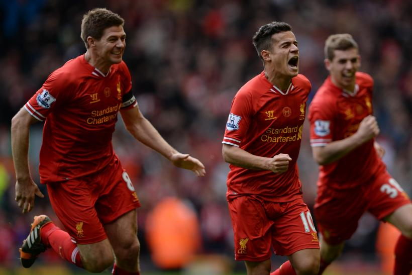Steven Gerrard, Philippe Coutinho, Liverpool