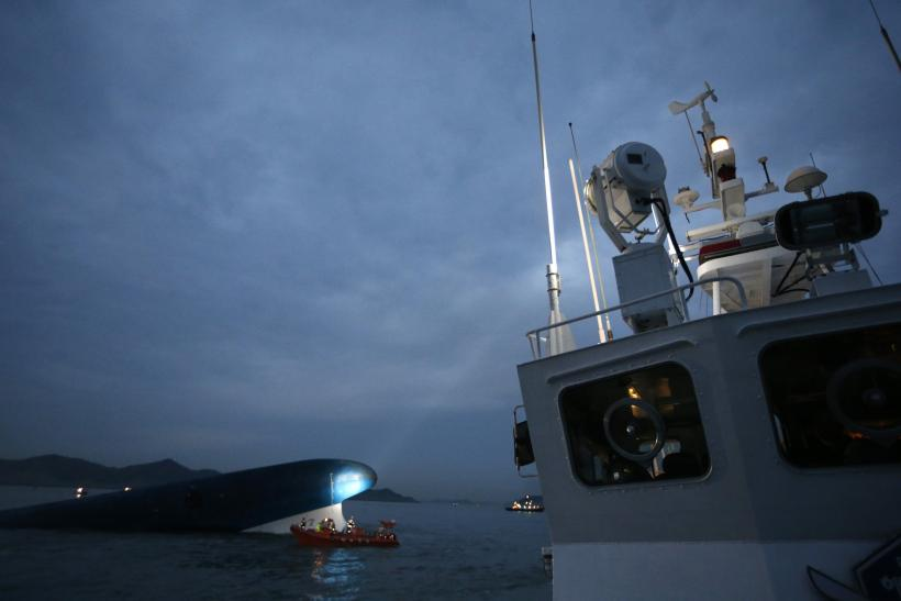 South Korea Ferry - Sewol Sinking Night