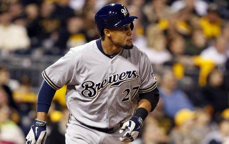 Carlos Gomez Milwaukee Brewers
