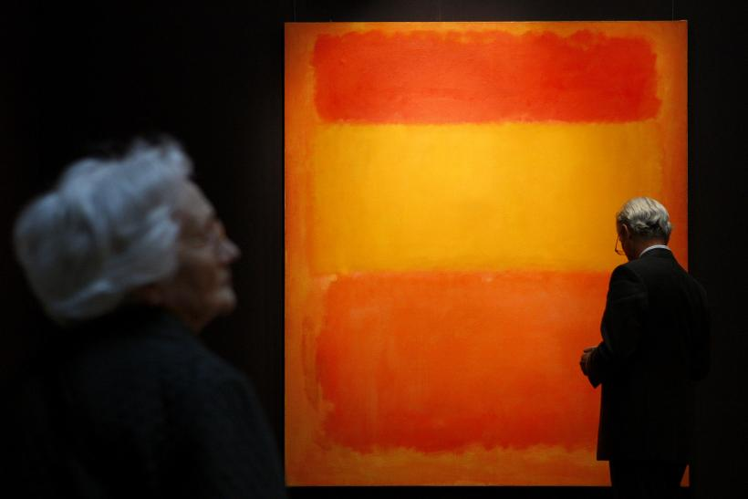 Painting by Mark Rothko