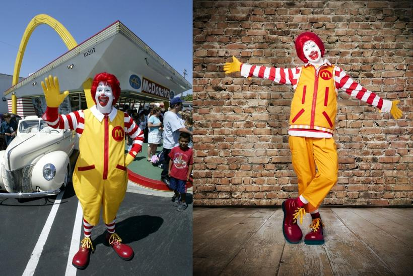 Ronald McDonald Makeover 2014 (Before and After)