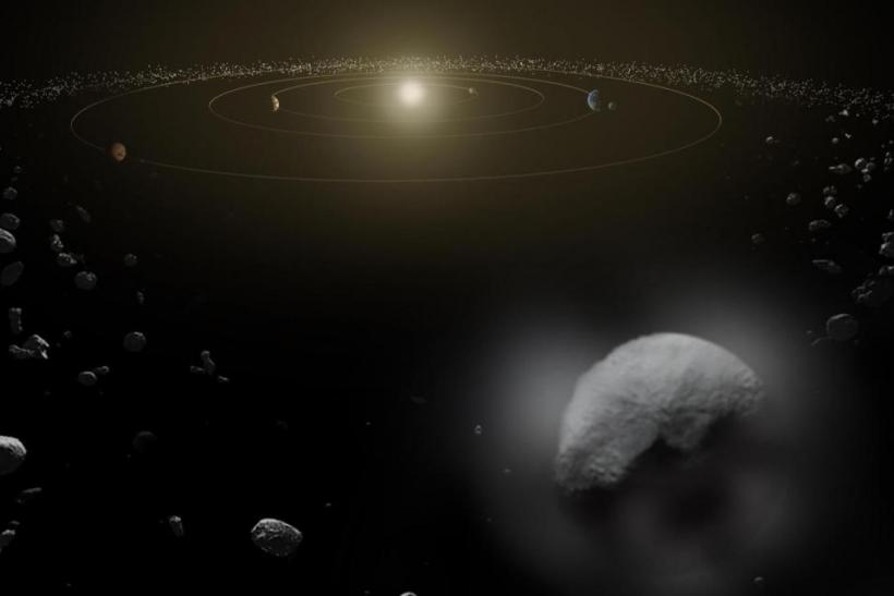 the surface of asteroid belts pictures - photo #9