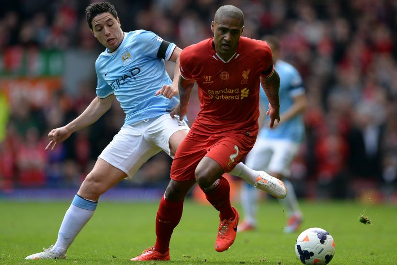 Manchester City, Liverpool, Nasri, Glen Johnson