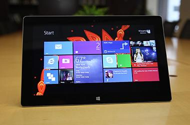 The Windows Surface 2