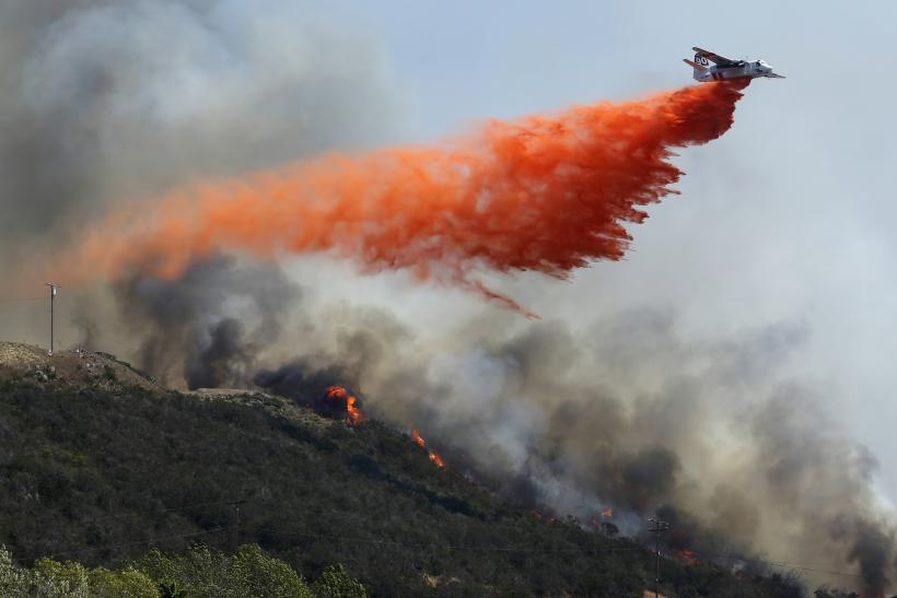 San Diego Forest Fire