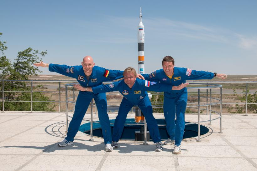 International Space Station Expedition 40/41 Crew Launch
