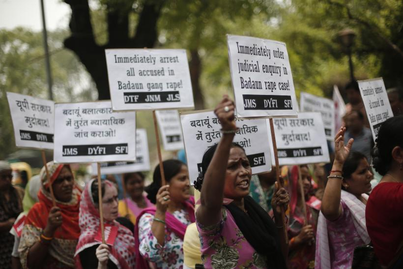 UP rape protest