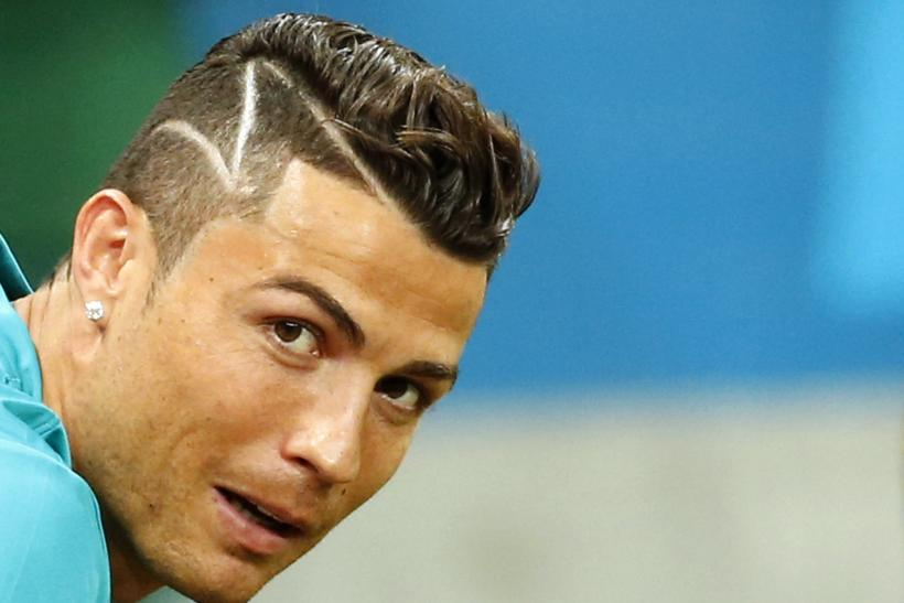 Cristiano Ronaldo is sporting a new haircut at the World Cup. Reuters