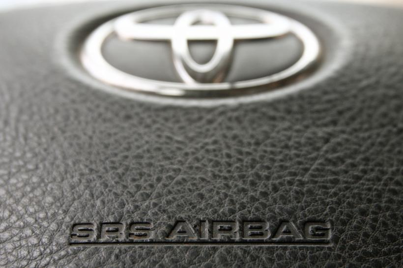 Toyota airbag