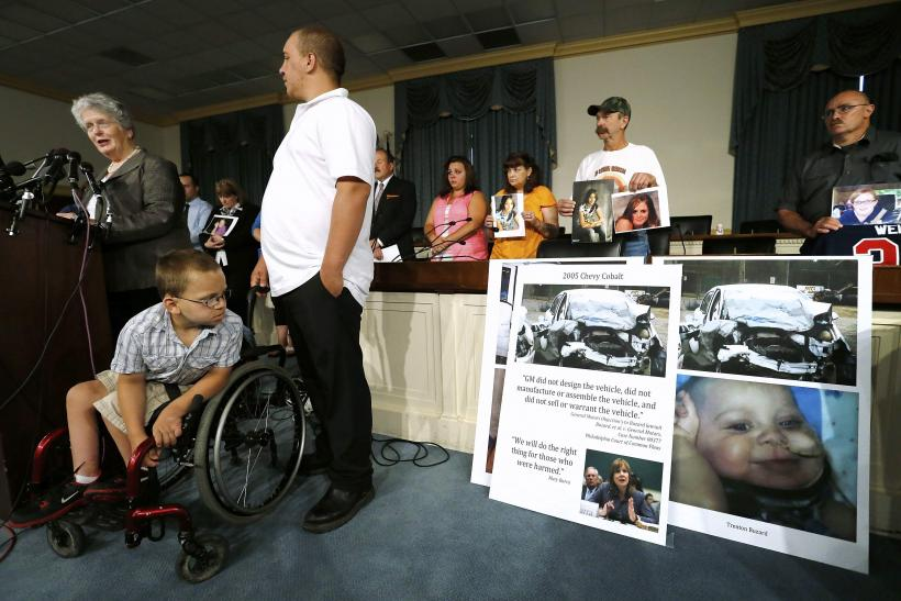 GM Ignition switch accident victims
