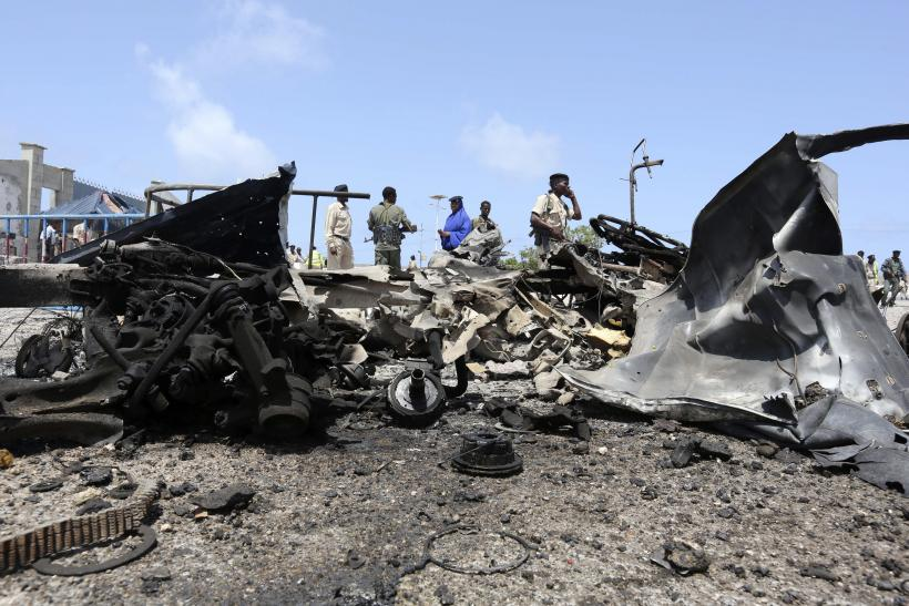 Car Bomb In Mogadishu
