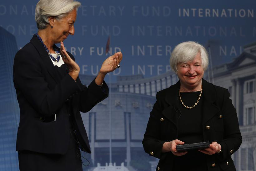 Christine Lagarde and Janet Yellen-July 2, 2014