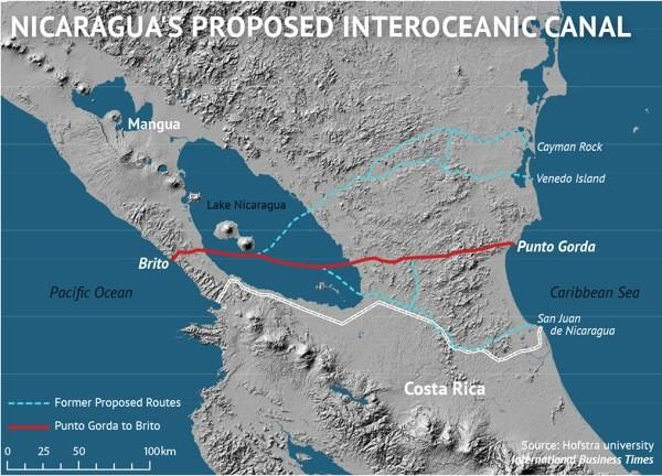 Nicaragua's Proposed Interoceanic Canal
