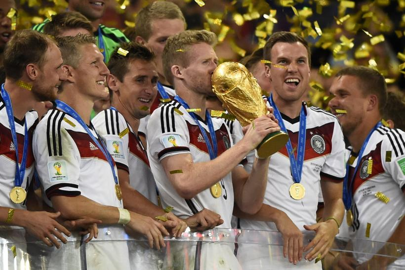Germany World Cup Win_Team Trophy