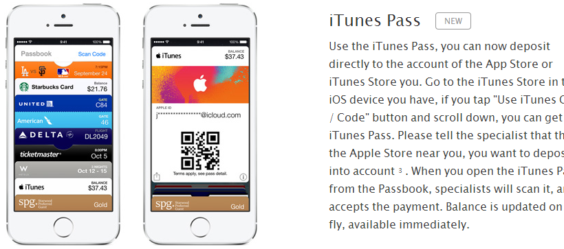 iTunes Pass Japan Screenshot