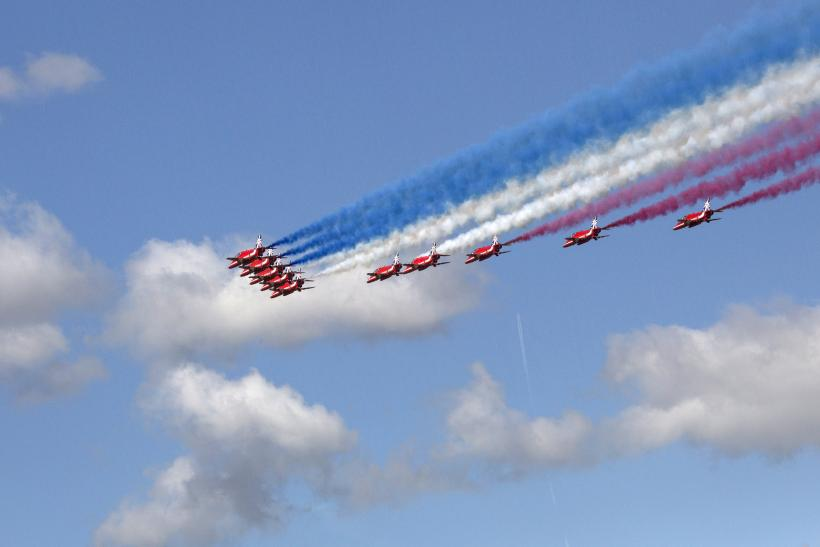 The opening of the Farnborough Air Show