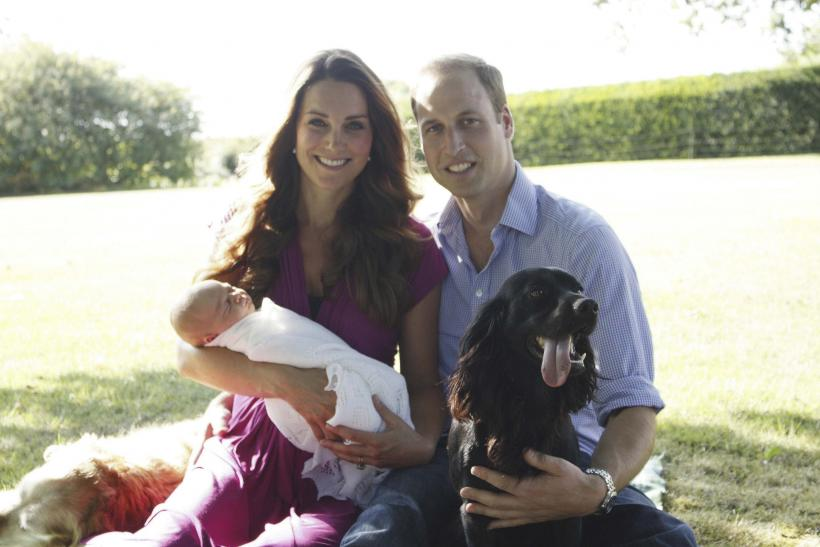 Prince George, William and Kate