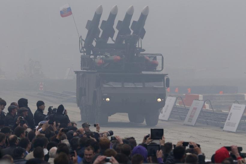 Russian BUK missile system