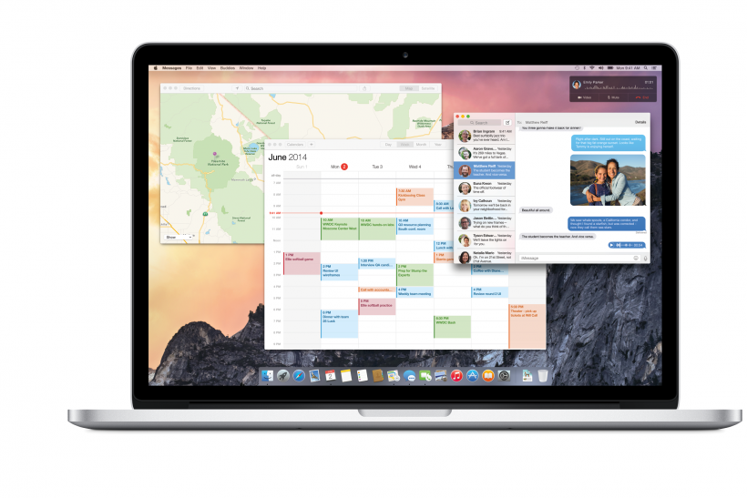 Apple MAC OS X Yosemite