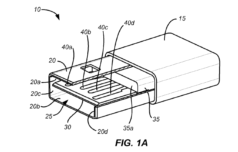 Apple Reversible USB Connector Patent Application