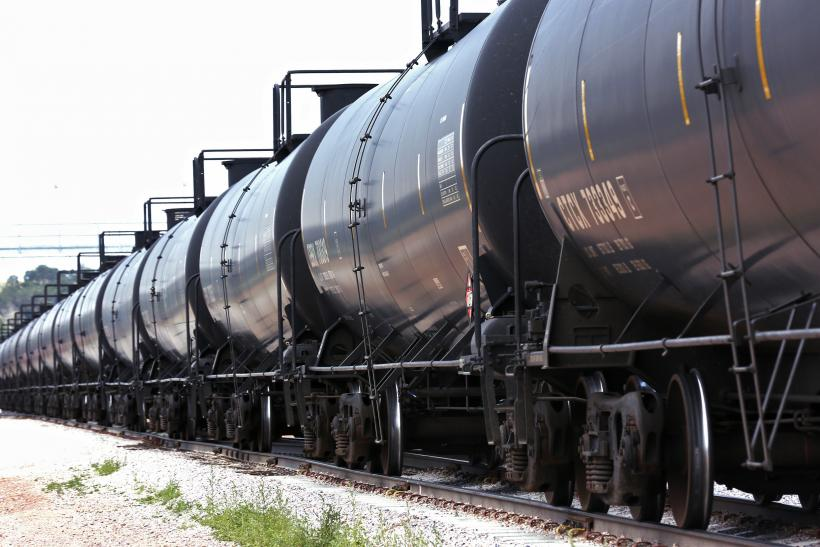 Crude Oil Rail Shipments Wyoming