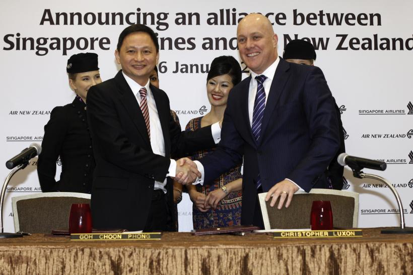 Alliance between Singapore Airlines and Air New Zealand