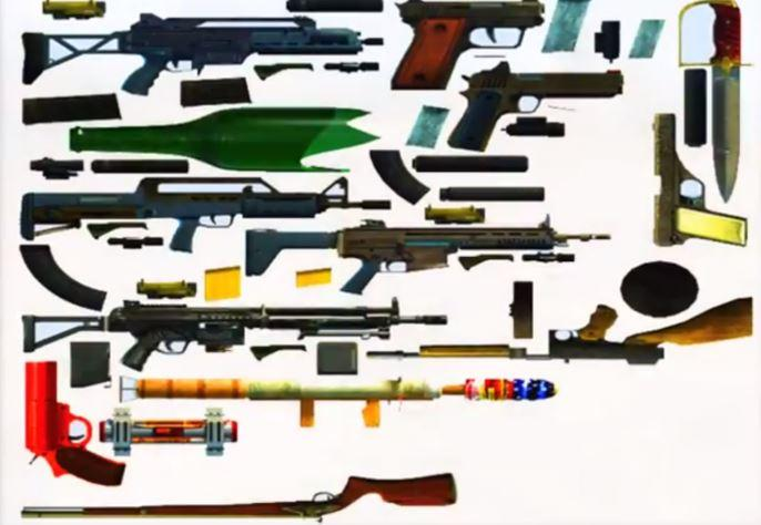 Gta 5 New Guns Gta Are New Weapons
