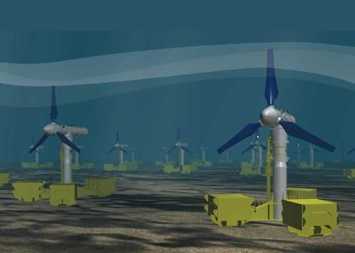 Atlantis Resources Tidal Turbines
