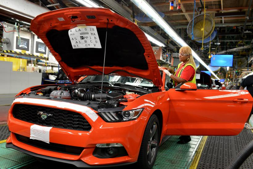 2015 Ford Mustang Assembly