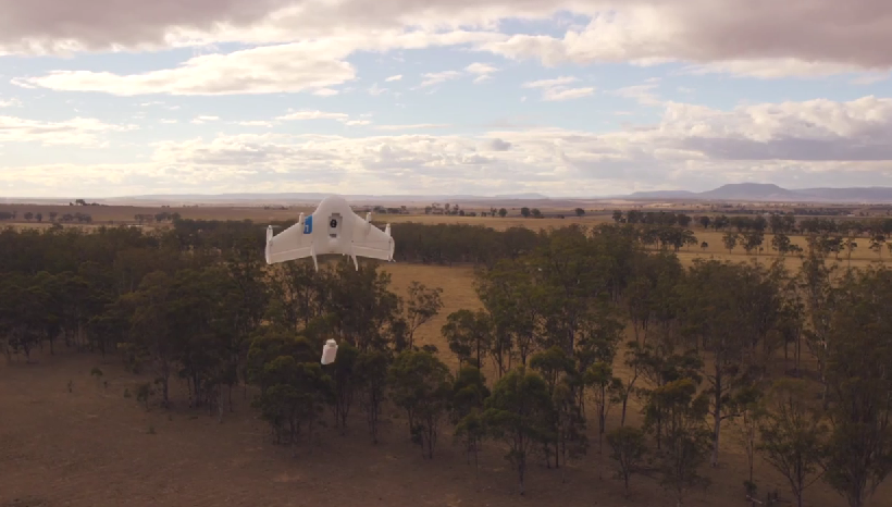 """Google Drone """"Project Wing"""""""
