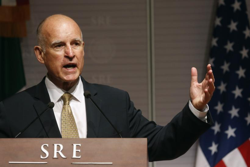 California Gov. Jerry Brown, July 28, 2014