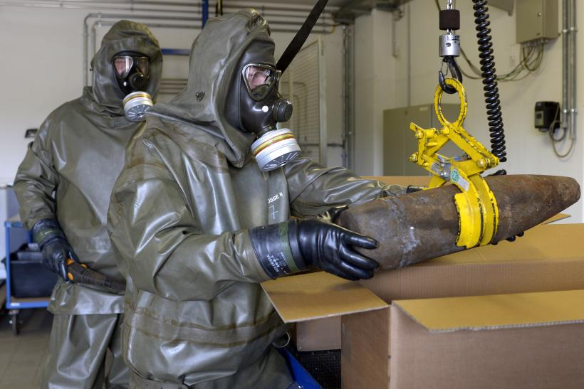 Destruction Of Chemical Weapons Declared By Syrian