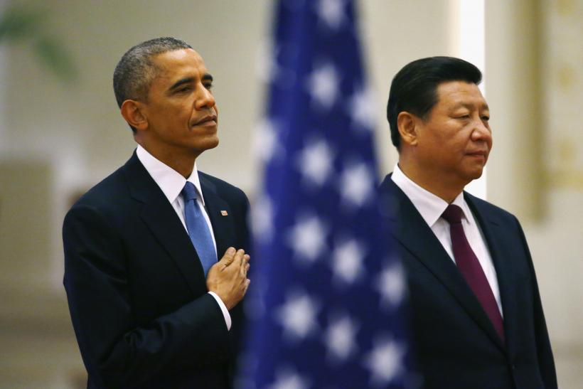 Obama and Xi in Beijing