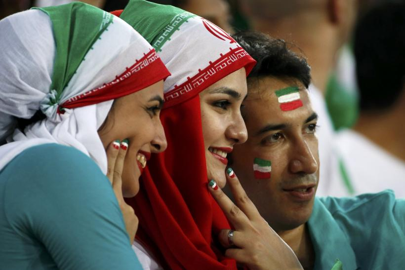 Iran stars warned over selfies with women fans